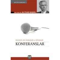 Konferanslar (Hukukun Ana Meseleleri ve Müesseseleri)