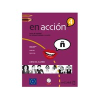 En acción 4 Libro del alumno (Ders Kitabı +3 CD) İspanyolca İleri Seviye