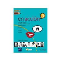 En Acción 3 Libro Del Alumno (Ders Kitabı +Audio Descargable) İspanyolca Orta-Üst Seviye-Elena Verdia
