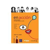 En acción 2 Libro del alumno (Ders Kitabı +Audio descargable) İspanyolca Orta Seviye