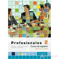Profesionales 2 Libro del alumno (Ders Kitabı +CD) İspanyolca Orta Seviye