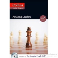 Amazing Leaders +Cd (A.People Readers 4) B2-Katerina Mestheneou