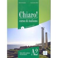 Chiaro! A2 (Ders kitabı+CD+CD ROM) Orta-alt seviye İtalyanca - Giulia de Savorgnani