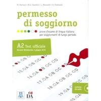 Permesso Di Soggiorno A2 (Kitap+Cd) İtalyanca Sınavlara Hazırlık-M. Bertani