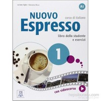 Nuovo Espresso 1 libro +DVD ROM (A1) İtalyanca temel seviye - Giovanna Rizzo