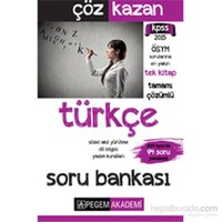 Pegem 2015 Kpss Çöz Kazan Türkçe Soru Bankası