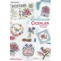 Kanaviçe Mini Motifler Çiçekler - Susan Bates