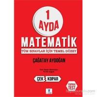 1 Ayda Matematik Deneme Sınavı 1-2-3 Çek Kopar Yaprak Test-Çağatay Aydoğan