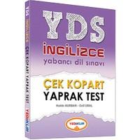 Yediiklim 2016 Yds İngilizce Çok Kopart Yaprak Test