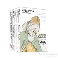 Yediiklim Kpss 2016 Eğitim Bilimleri Konu Anlatımlı Modüler Set (6 Kitap)-Kolektif