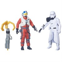 Star Wars Snowtrooper Officer Ve Snap Wexley İkili Figür