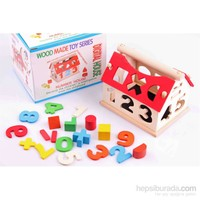 Learning Toys Wooden Digital Number House
