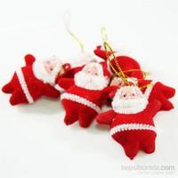 Artte Yılbaşı Ağaç Süsü Noel Baba 6 Parça