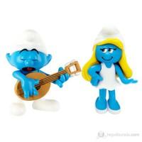 Şirinler Şirine ve Müzisyen Şirin İkili Figür