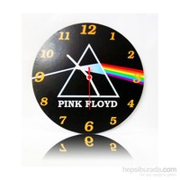 Köstebek Pink Floyd - Dark Side Of The Moon Ahşap Duvar Saati