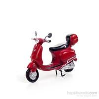 Scooter Kırmızı Motosiklet