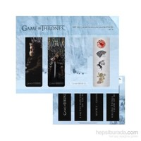 Game Of Thrones Magnetic Bookmark Set B Manyetik Kitap Ayracı