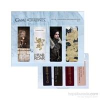 Game Of Thrones Magnetic Bookmark Set C Manyetik Kitap Ayracı