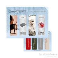Game Of Thrones Magnetic Bookmark Set D Manyetik Kitap Ayracı