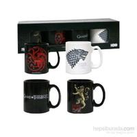 Game Of Thrones Set Of 4 Espresso Mug Set Espresso Shot Seti