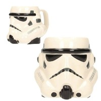 Sd Toys Star Wars Stormtrooper Head 3D Ceramic Mug Kupa Bardak