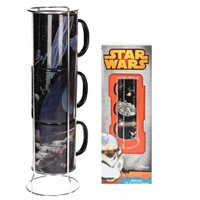 Sd Toys Star Wars Death Star Millenium Falcon Mugs Set Bardak Seti