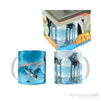 Star Wars: Battle Of Hoth Black Ceramic Mug Bardak