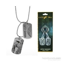 Pacific Rim Gipsy Danger Dog Tag Asker Künyesi