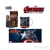 Avengers: Age Of Ultron Captain America Mug Kupa Bardak