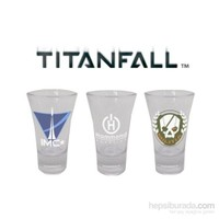 Titanfall Shotglasses Set Of 3 Espresso Shot Bardağı Seti