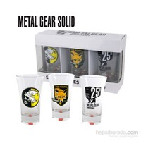 Metal Gear Shotglasses Set Of 3 Espresso Shot Bardağı Seti