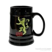Game Of Thrones Lannister Black Ceramic Stein Bardak