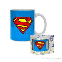 Dc Comics Superman Logo Ceramic Mug Bardak