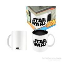 Star Wars: Black White Logo Ceramic Mug Bardak