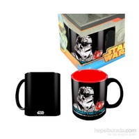 Star Wars: Stormtrooper Black Red Ceramic Mug Bardak
