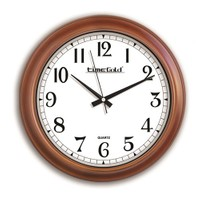 Time Gold Ahşap Görünümlü Duvar Saati-35cm TG151