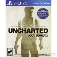 Uncharted : The Nathan Drake Collection Ps4 (Türkçe Altyazı-Türkçe Dublaj)