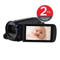 Canon Legria HF R606 HD Video Kamera Essential Kit Siyah