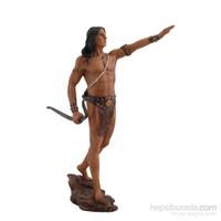 Amazon Savaşçı Figürlü Biblo