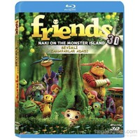 Friends Naki on the Monster Island (Sevimli Canavarlar) (3D Blu-Ray)