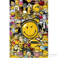 Smiley Tribal Styles Maxi Poster