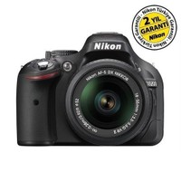Nikon D5200 18-55 VR II Profesyonel Fotoğraf Makinesi