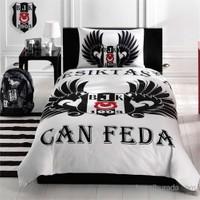 Beşiktaş Parlayan Kartal Tek Kişilik Ranforce Nevresim Takımı