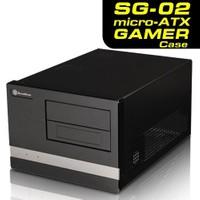 SilverStone Sugo SG02B-F MicroATX Kasa (SST-SG02B-F)