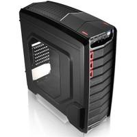 Aerocool GT-A USB 3.0 Pencereli, Fan Kontrolculu Siyah ATX Oyuncu Kasası (AE-GTBE)