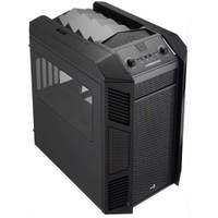 Aerocool X Predator Cube Siyah 2xUsb 3.0 1x20cm Fanlı, Fan Kontrolculu Küp Kasa (AE-XPRCUBE)