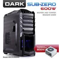 Dark Sub-Zero 600W SSD Ready ATX Siyah Oyuncu Kasası (DKCHSUBZERO600)