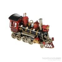 Metal Lokomotif Tren