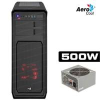 AeroCool Aero 800 USB 3.0 4xFan 500W Siyah ATX Kasa (AE-AERO800-500)