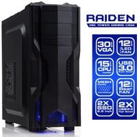 Dark Raiden USB 3.0, 2xFan, ATX Oyuncu Kasası (DKCHRAIDEN)